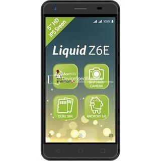 Acer Liquid Z6E — Отзывы и подробные технические характеристики