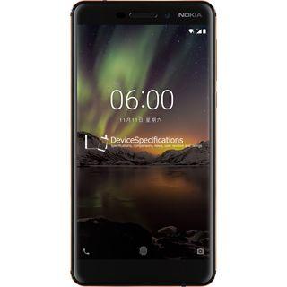 Nokia 6 (2018) — Отзывы и подробные технические характеристики